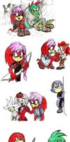 Hunger Games parody w/Sonic characters by Xaolin26
