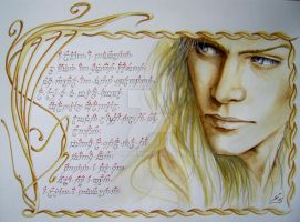 Celeborn by icy-maiden