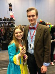Beatrice Whaley Makes Friends With The Doctor by romancewritereitak47