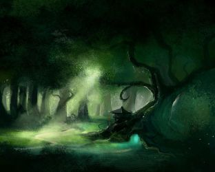 Legendary Forest by CylionDraw