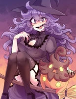 P - Halloween Maniac by Kaibuzetta
