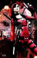 Fem Deadpooly by ZombaeCosplay
