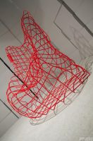 Wireframe chair by PiTRiS