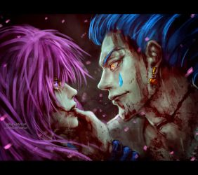 the Joker and his warning by NanFe