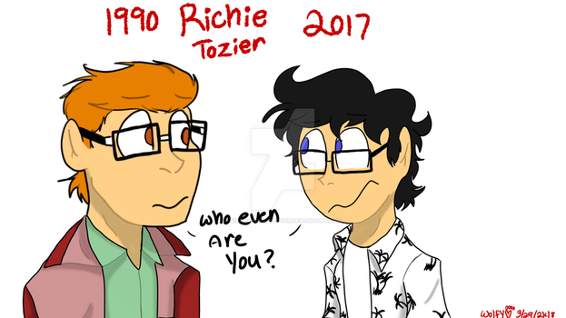 [IT/2017/1990] Richie...and Richie? by niallandfoxylover