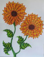 Genetically Modified Sunflower by dove-51
