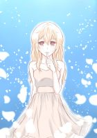your lie in april (Kaori) by TheChibiRascal