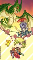 Brave Frontier - Dreaming a Little Fantasy by Vayreceane