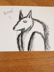 Wolf-bird-thingy by TTheFaceless