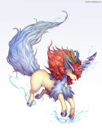 Pokemon: Keldeo (w/painting video)