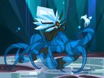 Water and ice by Tapwing