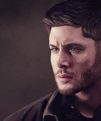 Dean Winchester_4 by Rousetta