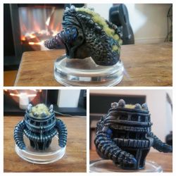 Shadow of the Colossus Sculpture - Completed by makerforge