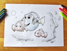 Dory and Co by 29steph5