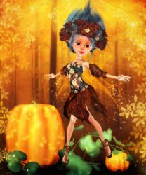 Faerie of Autumntide by RavenMoonDesigns