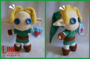 Legend of Zelda Link Plush by sugarstitch