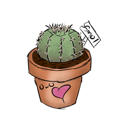 smol cactus by Tac0butt