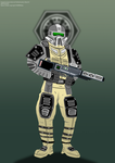 Imperial Radiation Trooper by Imperial-Ascendance