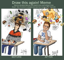 Meme| Draw this again! by RomyvdHel-Art
