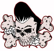 Greaser skull by ZMBGraphics
