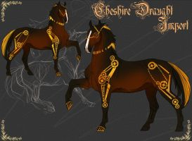 Cheshire Draught - Import 21 by Percyvelle