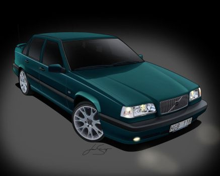 Volvo 850 Toon by LindStyling