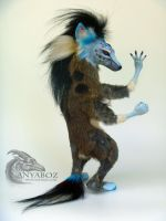 Domino Twist the Hyena Room Guardian by AnyaBoz