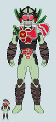 Toku sprite - Sigurd (Cherry Energy Arms) by Malunis