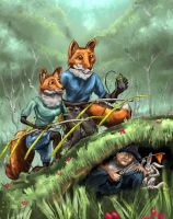 Foxhunt by MikeK4ICY