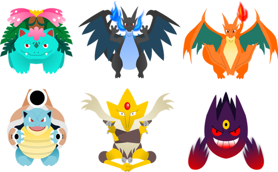 Pokemon Mega Evolutions 1 by lordbatsy