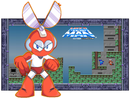Super Robot Master - Cut Man by FierceTheBandit