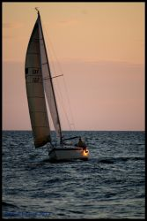 Sunset Sail by smilesbysue