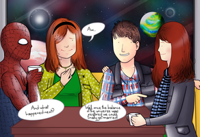 Double date (Marvel/DW request) by ice-cream-skies