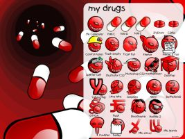 My drugs by wasted-hopeless
