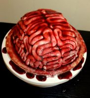 Brain Cake by KirstysCakes