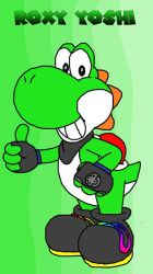 Roxy the Yoshi by ccagamer
