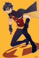 Young Justice Robin by paper-hero