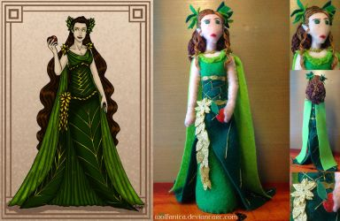 Silmarillion: Felt Yavanna by wolfanita