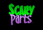 Scary Parts logo font treatment by ZombieRoomie