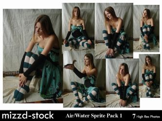 Air+Water Sprite Pack 1 by mizzd-stock