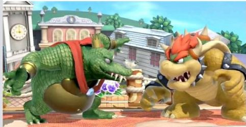 The Dream Match - King K. Rool vs. King Bowser by tallsimeon2003