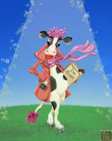 Pinta, the cow by JoanGuardiet