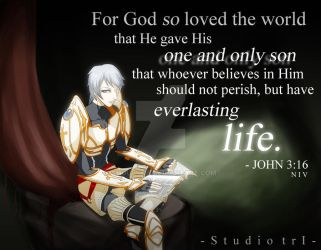 Kaniel- John 3:16. by ShouYume