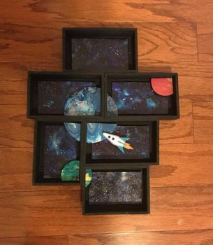 Multiple box shadowbox by sillysarasue
