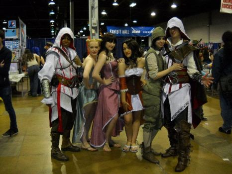 Assassin's Creed II group Acen by Forcebewitya