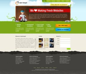 Web Design Mockup by bilalm