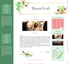 Golden Lines - blogger template by Starved-Soul