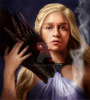 Mother of Dragons by DrKujo