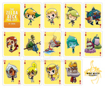 The Zelda Deck: Diamonds by Aniteen9
