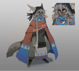 Vihka 'FoxKid' Adopt Auction [24 HOURS] CLOSED by Kel-Del